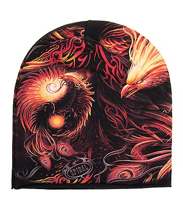 Spiral Direct Phoenix Arisen Beanie (Black/Orange)