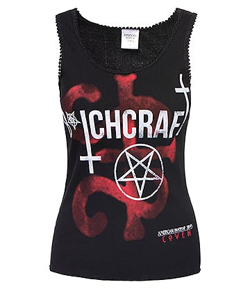Spiral Direct x American Horror Story Bitchcraft Vest (Black)