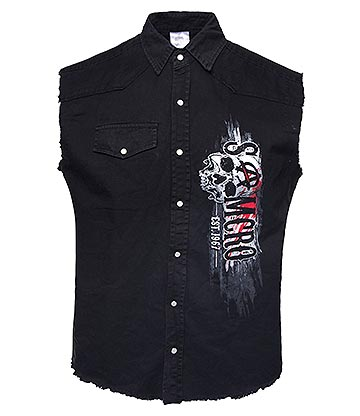 Sons Of Anarchy Reaper Rifle Vest (Black)
