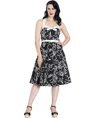 Hell Bunny Mistral 50's Dress (Black)