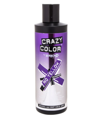 Crazy Color No Yellow Shampoo 250ml (Ultraviolet)