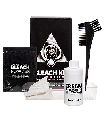 Super Saver Bleach Kit For Prelightening Hair (30 Volume)