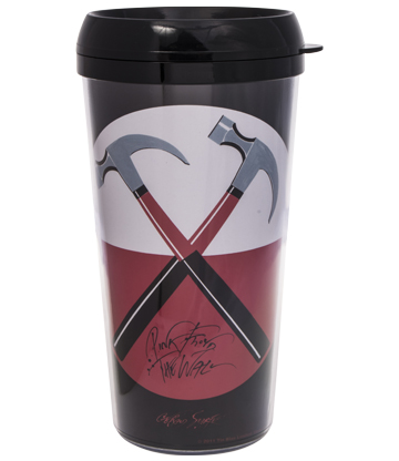Official Pink Floyd The Wall Travel Mug (Black)