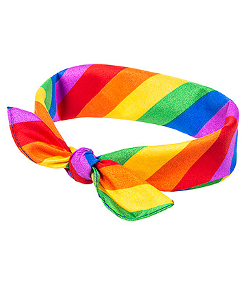 Blue Banana Rainbow Bandana (Multicoloured)