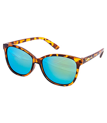 Blue Banana Tortoiseshell Sunglasses (Brown)