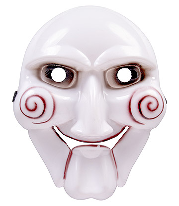 Blue Banana Billy Saw Mask (White)