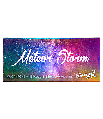 Barry M Meteor Storm Eyeshadow Palette (Metallic)