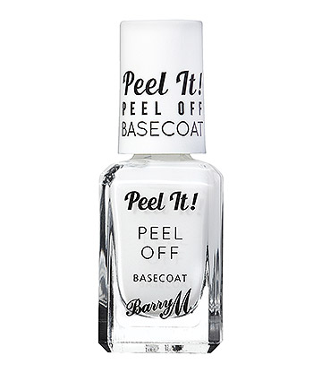 Barry M Peel It! Peel Off Nail Basecoat (White)