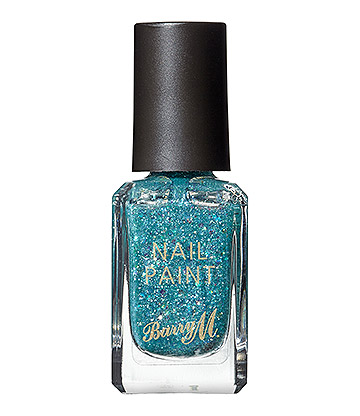 Barry M Classic Glitter Ethereal Forest Nail Paint (Blue/Green)
