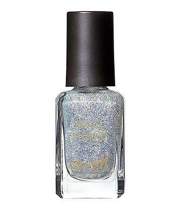 Barry M Classic Glitter Whimsical Dreams Nail Paint (White)