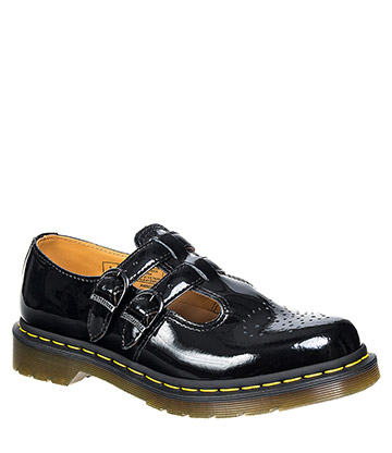 Dr Martens Mary Jane 8065 Shoes (Patent Black)