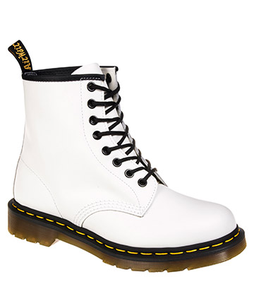 Dr Martens 1460 Smooth Boots (White)