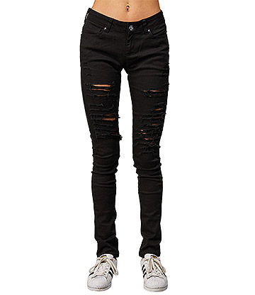 Criminal Damage Camden Slim Fit Jeans (Black)