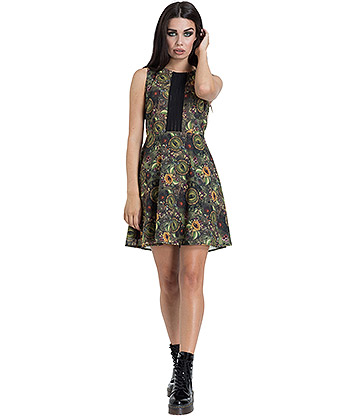 Jawbreaker Dark Mystic Mini Dress (Multicoloured)
