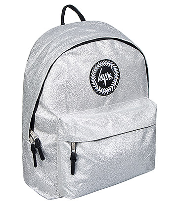 Hype Glitter Backpack (Silver)