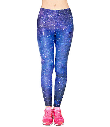 Kukubird Galaxy Leggings (Blue)