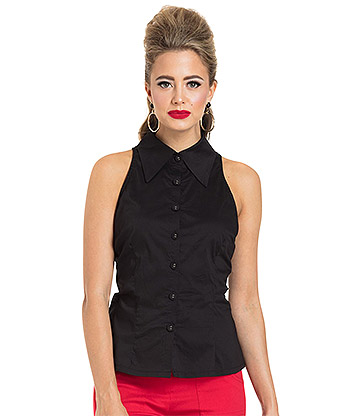 Voodoo Vixen Jasmine Top (Black)