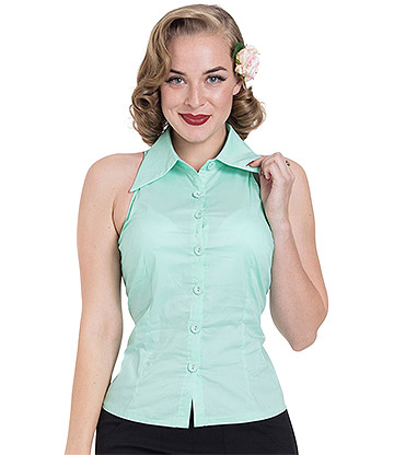 Voodoo Vixen Jasmine Top (Green)