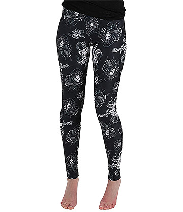 Blue Banana Alchemy Ace Leggings (Black/White)