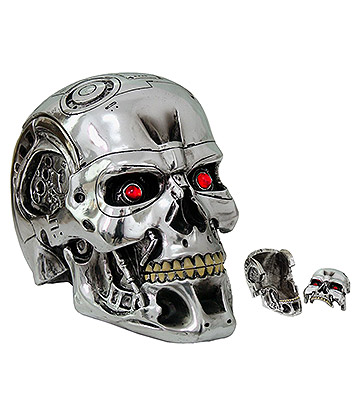 Nemesis Now Terminator Box (Silver)
