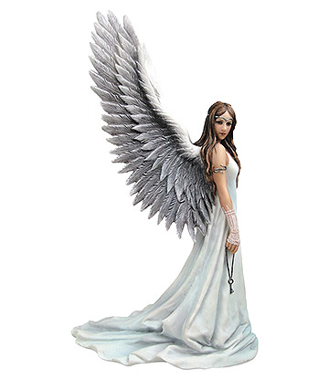 Nemesis Now X Anne Stokes Spirit Guide Figurine (White)