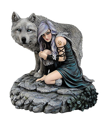 Nemesis Now Protector Figurine (Multicoloured)