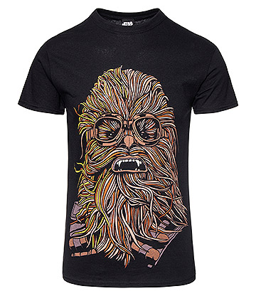 Star Wars Han Solo Chewie Goggles T Shirt (Black)