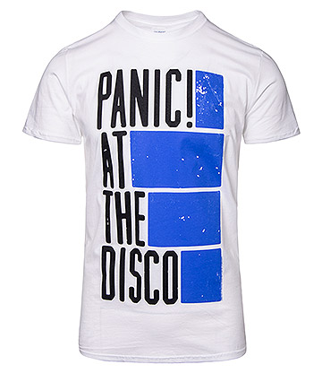 Official Panic! At The Disco Bars T Shirt (White)