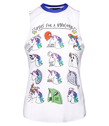 Cosmic Uses For A Unicorn Vest (Multicoloured)