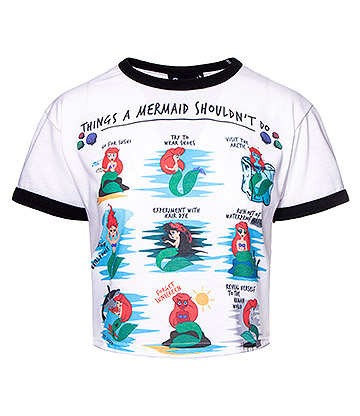 Cosmic Mermaid Issues Crop Top (Multicoloured)