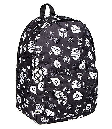 Cosmic Far Away Galaxies Backpack (Black/White)