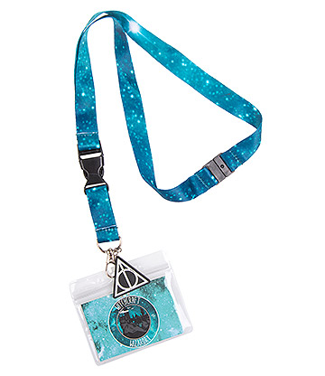 Cosmic Witchcraft & Wizardry Lanyard (Blue)