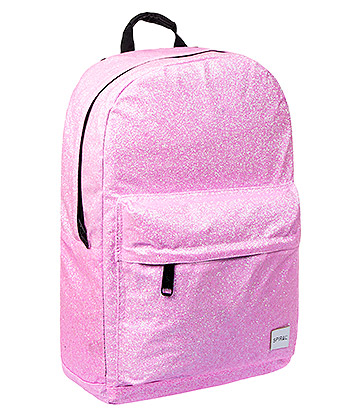 Spiral Glitter Backpack (Pink)