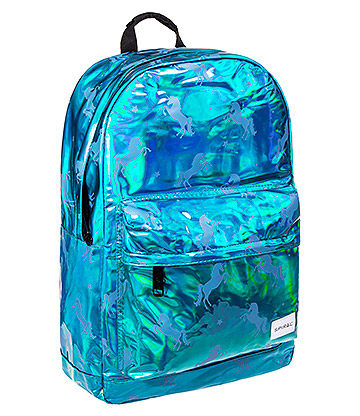 Spiral Unicorns Backpack (Blue)