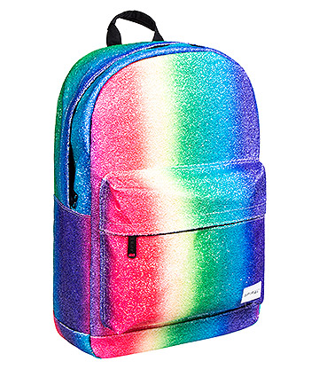 Spiral Rainbow Crystals Backpack (Multicoloured)