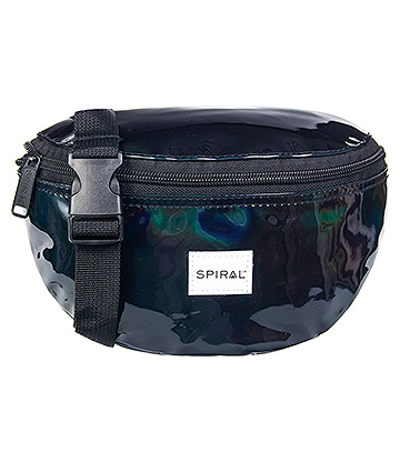 Spiral Rave Bum Bag (Black)