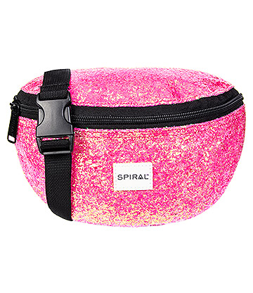 Spiral Stardust Bum Bag (Hot Pink)