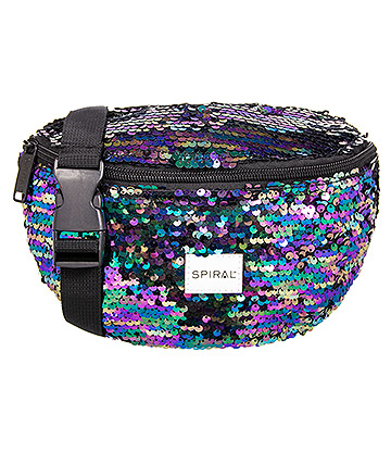 Spiral Midnight Sequins Bum Bag (Multicoloured)