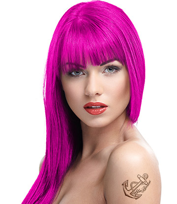 Crazy Color Semi-Permanent Hair Dye 100ml (Rebel UV)
