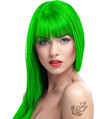 Crazy Color Semi-Permanent Hair Dye 100ml (Toxic UV)