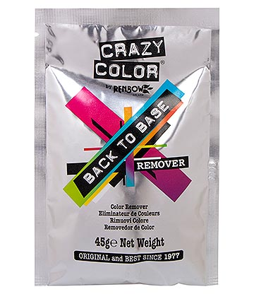 Crazy Color Back To Base Colour Hair Dye Remover (45g)