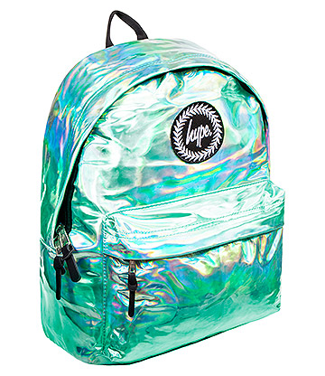 Hype Holographic Backpack (Mint Green)