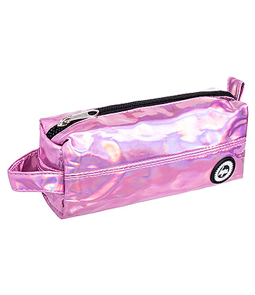 Hype Holographic Pencil Case (Pink)