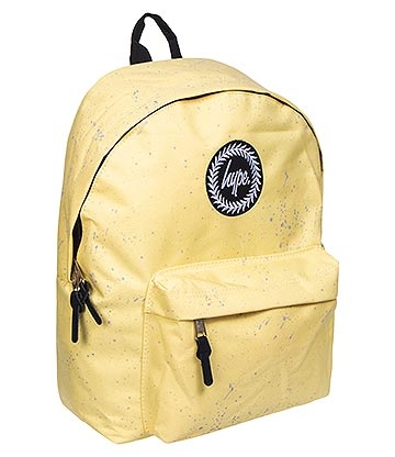 Hype Lemon Speckle Backpack (Yellow/Grey)