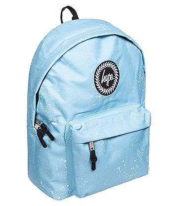 Hype Speckle Backpack (Baby Blue/White)