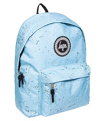 Hype Speckle Backpack (Baby Blue/Navy)