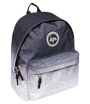 Hype Fade Speckle Backpack (Black/White)