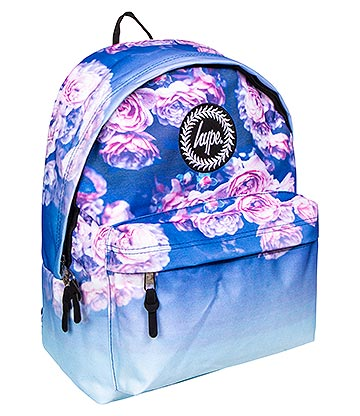 Hype Rose Fade Backpack (Blue)