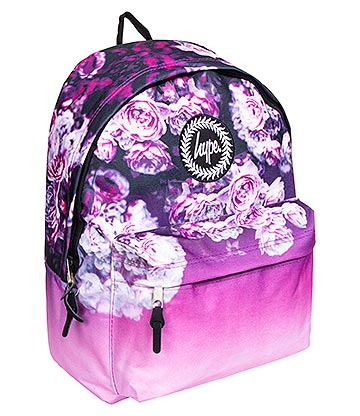 Hype Rose Fade Backpack (Purple)