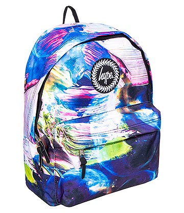 Hype Space Paint Backpack (Multicoloured)